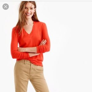 J.crew  collection 100% cashmere Italian sweater